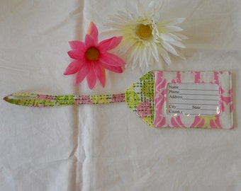 Luggage Tag - Garden Party