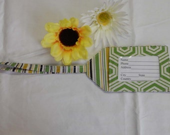 Luggage Tag - Wine Country