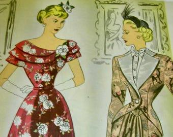Vintage MODES ROYALE  Pattern Book Catalog Magazine - Spring and Summer 1948