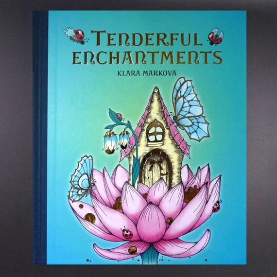 Tenderful Enchantments ENGLISH Language Unique Colouring Book