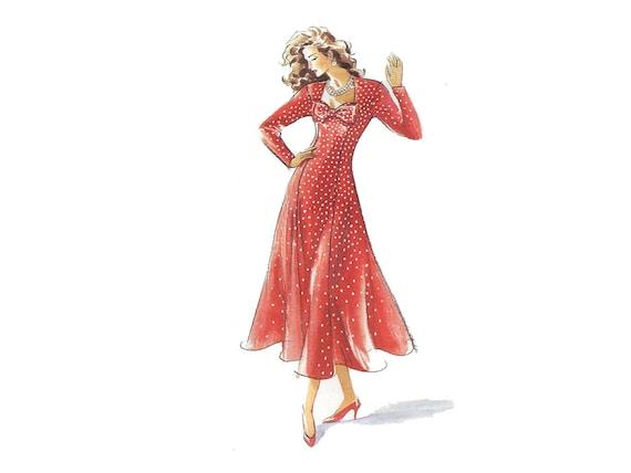 Einfach Prinzessin Kleid Muster Fit und Streulicht | Etsy