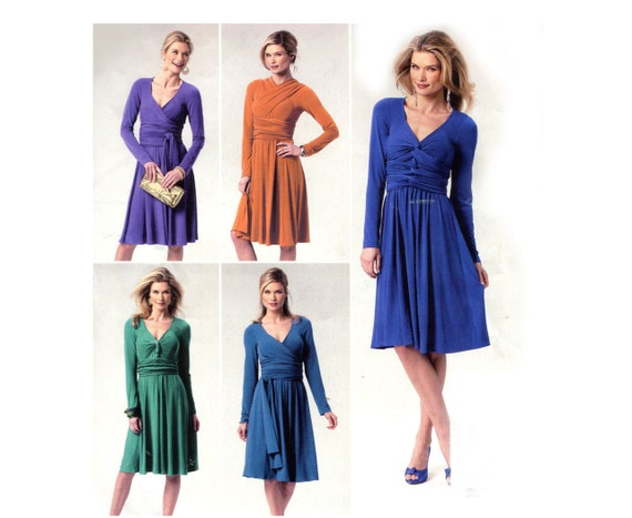 Einfach Multi-Wrap Kleid Muster unendlich Stil wickeln binden | Etsy