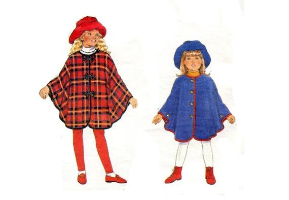 Mädchen einfach Cape und Hut Stovepipe Diskette süße passenden | Etsy