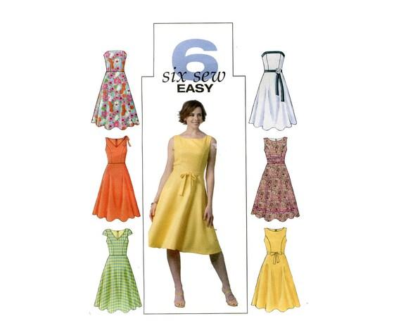 Vintage-Stil Fit und Streulicht Kleid ärmellos Prinzessin Naht | Etsy