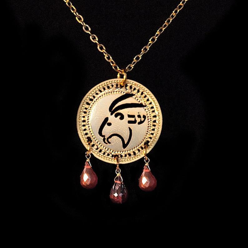 7792ace29355 Zodiaco Capricornio collar collar de oro collar de piedra