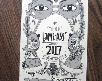 Lame-Ass Winter 2017 Almanac Minicomic