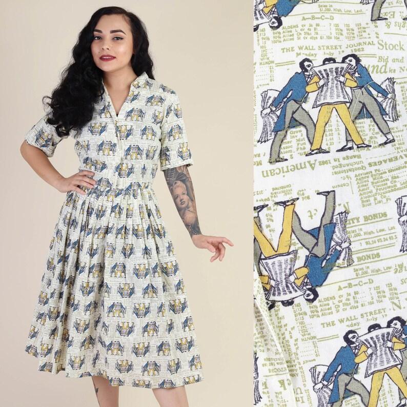 NYC Print Dress