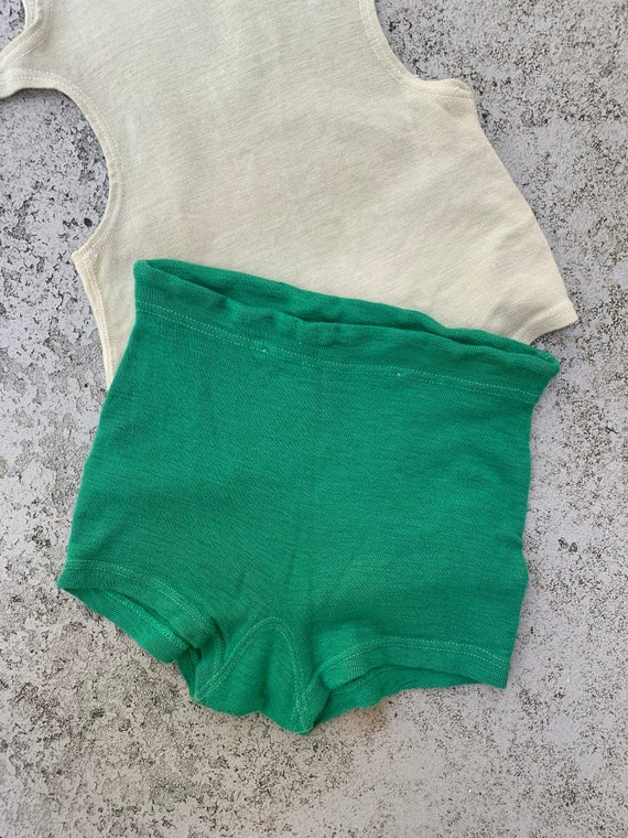 1930s Men's Swim Trunks Small
