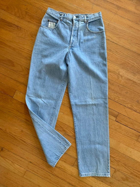 80s Button Fly High Rise Guess Jeans Waist 29