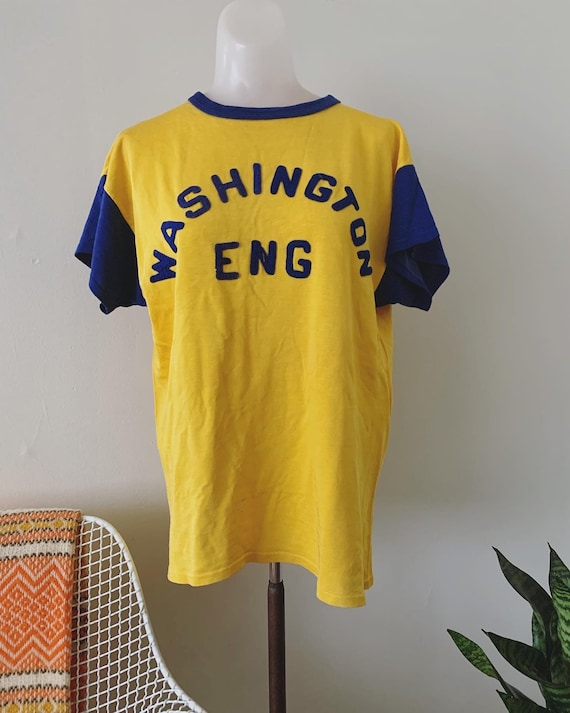 1950s Washington Engineering Durene Athletic Tee - image 4