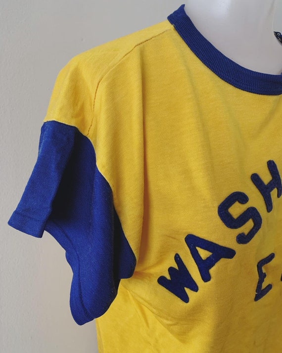 1950s Washington Engineering Durene Athletic Tee - image 5