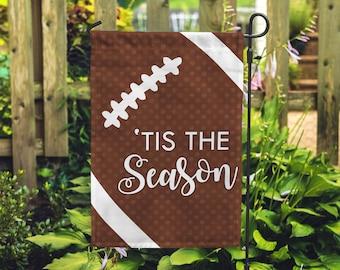 """Tis the Season Football Home and Garden Flag 12""""x18"""""""
