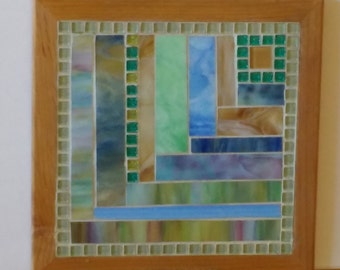 Stained Glass Mosaic Trivet