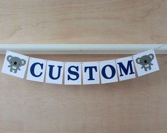 Birthday Party Decoration Police Car Banner Car Themed Baby Shower 4.5 Tall Custom Text or Name Custom Colors or Cop Retirement
