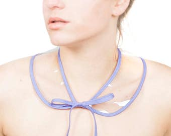 Detachable Collar Peter Pan Style Removable Vinyl Collar Transparent Necklace Clear Vinyl Collar Statement Necklace