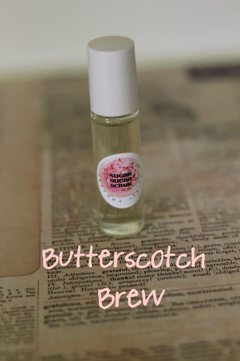 BUTTERED BEER PERFUME Oil Roll On  Sweet Butterscotch Candy image 0