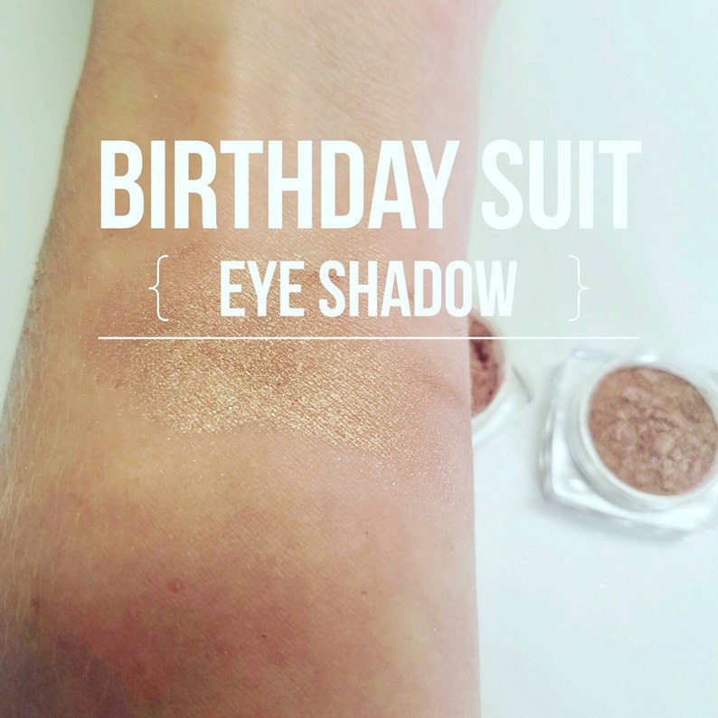 SALE BIRTHDAY Suit Highlighter  Eye Shadow in One  Mineral image 0