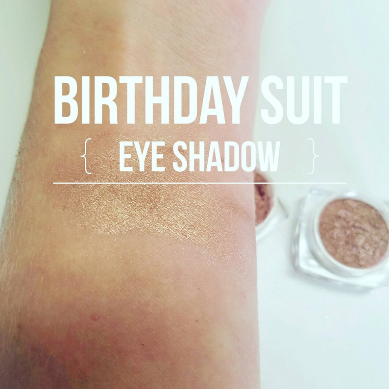 BIRTHDAY Suit Highlighter  Eye Shadow in One  Mineral Make image 0