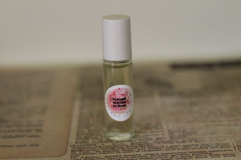 FALL Perfume Oil Roll On  19 Scent Choices  7ml Glass Roll image 0