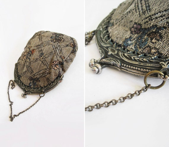 Antique Tapestry Purse