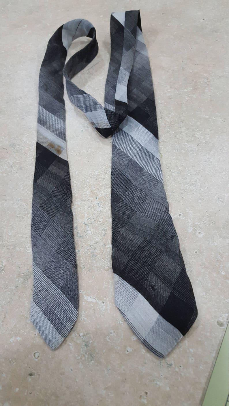 Tie cotton costume necktie