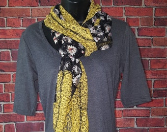 Yellow Floral Lace Tunic