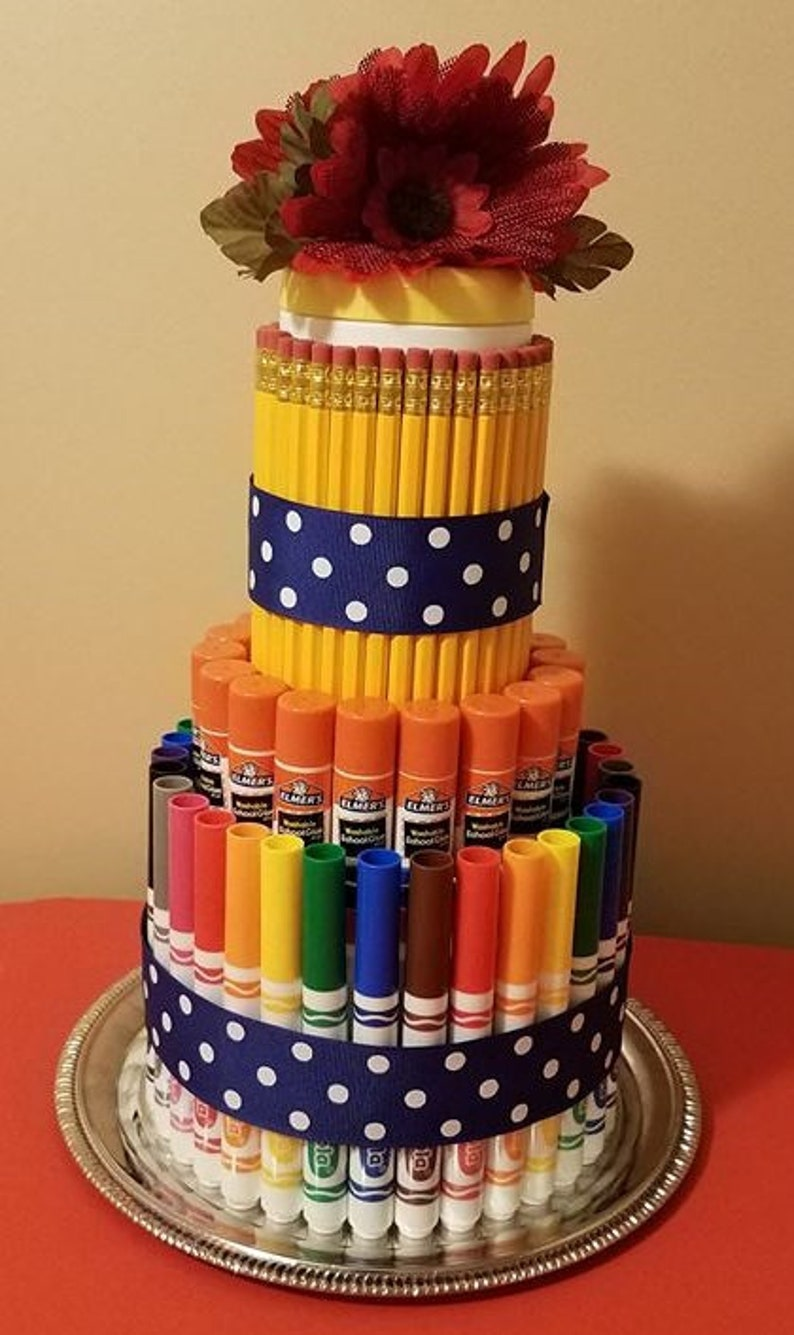 School Supply Cakes