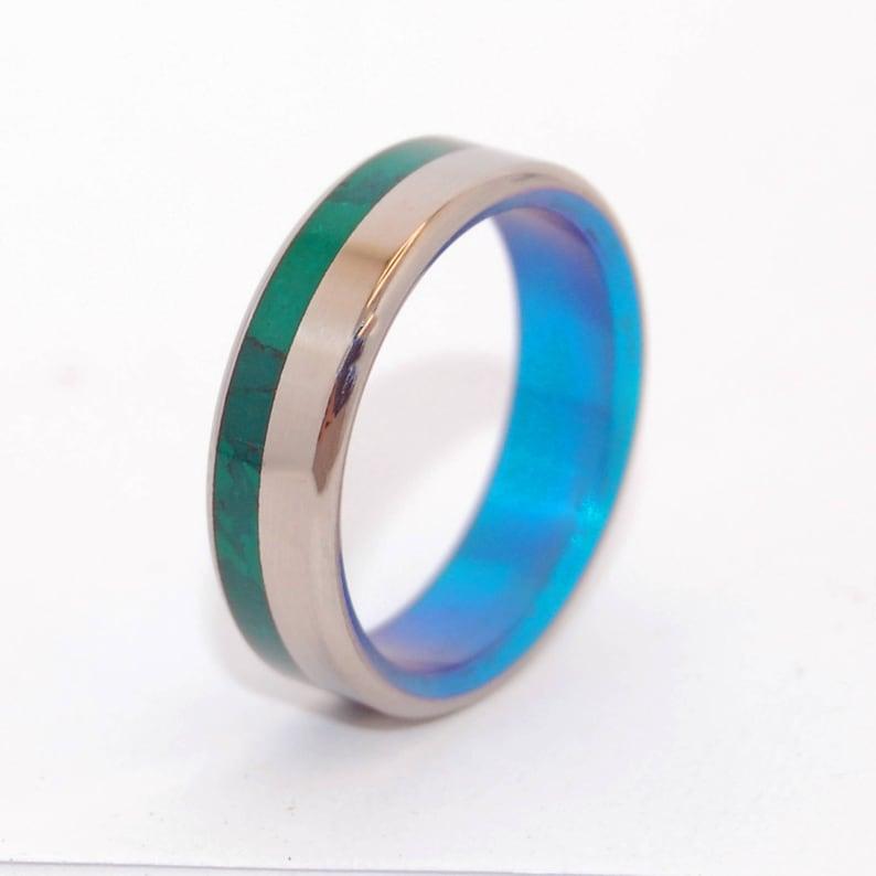 Wedding Rings Titanium Rings Stone Rings Jade Ring Womens Etsy