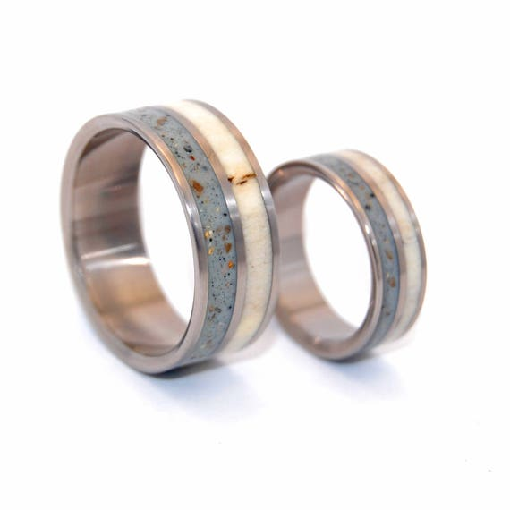Titanium Wedding Bands Titanium Wedding Rings Mens Rings Etsy