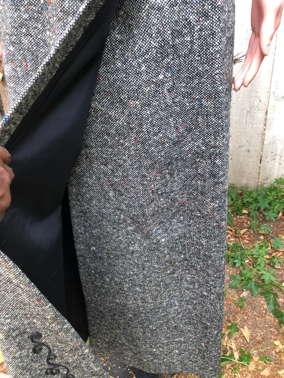 Vintage EMCAR Wool Skirt & Shawl / Maxi Skirts /W… - image 6