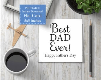 Fathers Day Card, Best Dad Ever, Gift, Photo Frame, Fishing Tools Shirt, Fathers Day Tag, Card