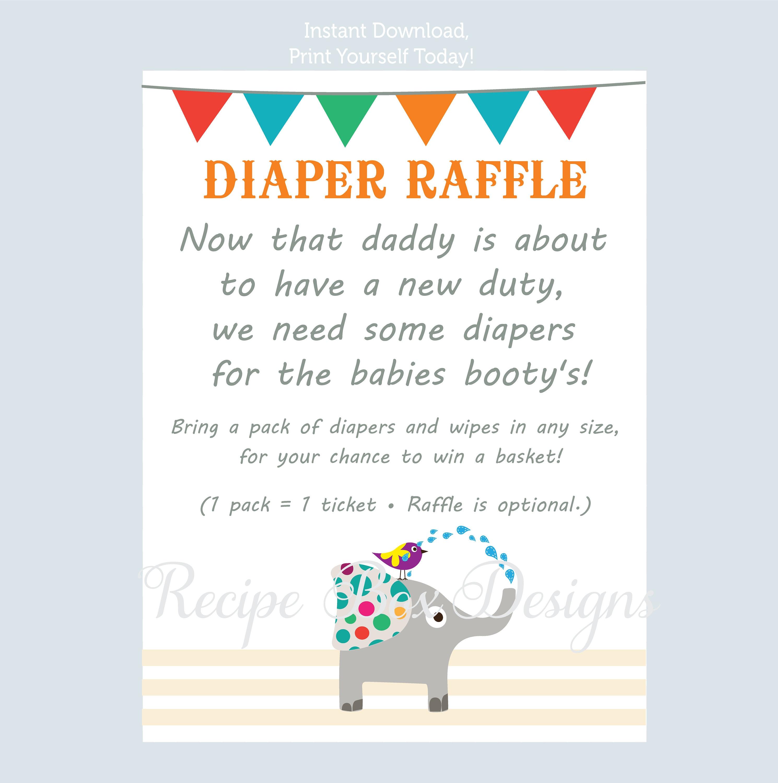 twins diaper raffle tickets diaper raffle sign baby shower