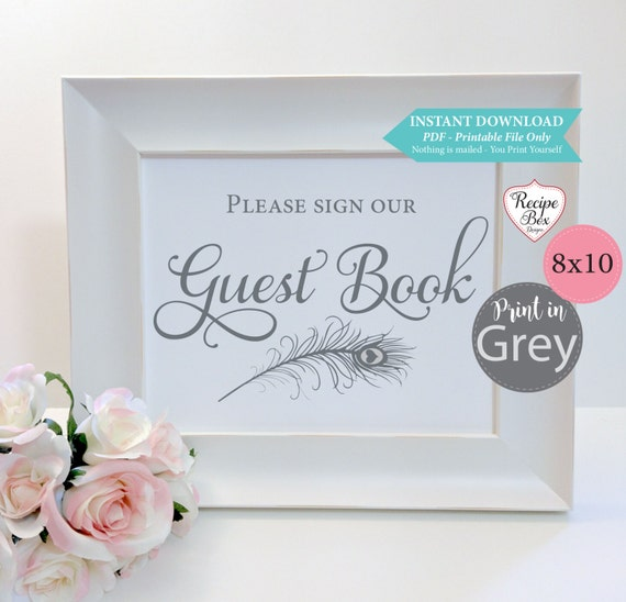 printable wedding signs recipe box designs