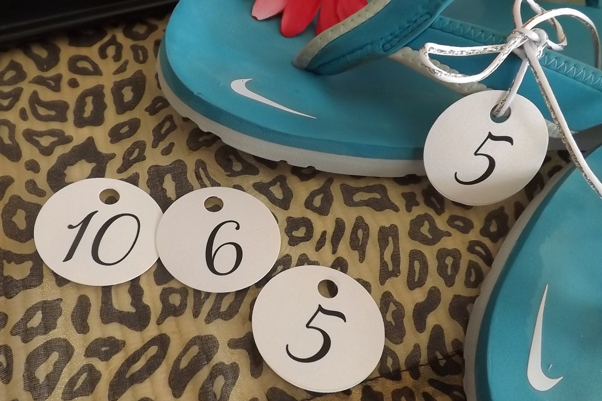0edffca93 Dancing Shoes Size Tags Sign and Tags