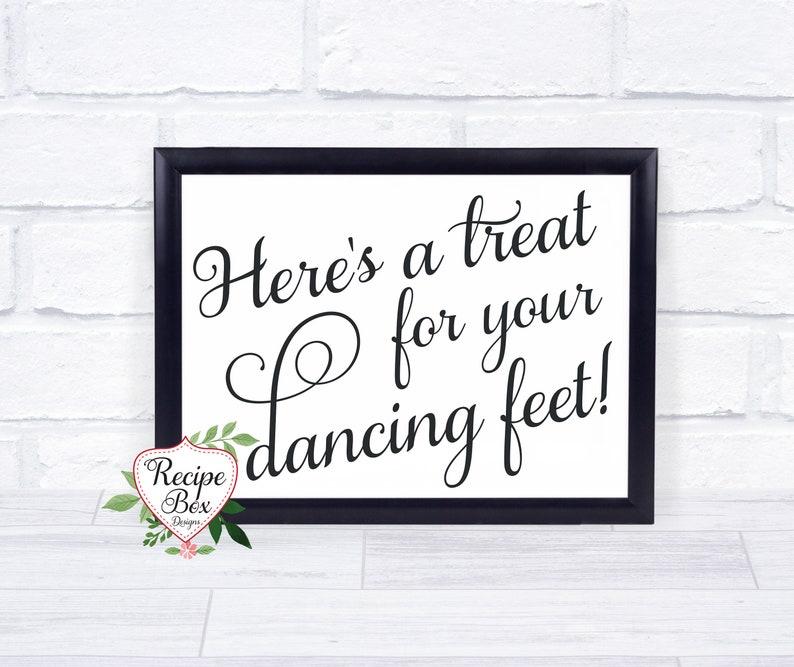 57ddb23de Dancing Shoes Sign Flip Flops Dancing Feet Sign Wedding