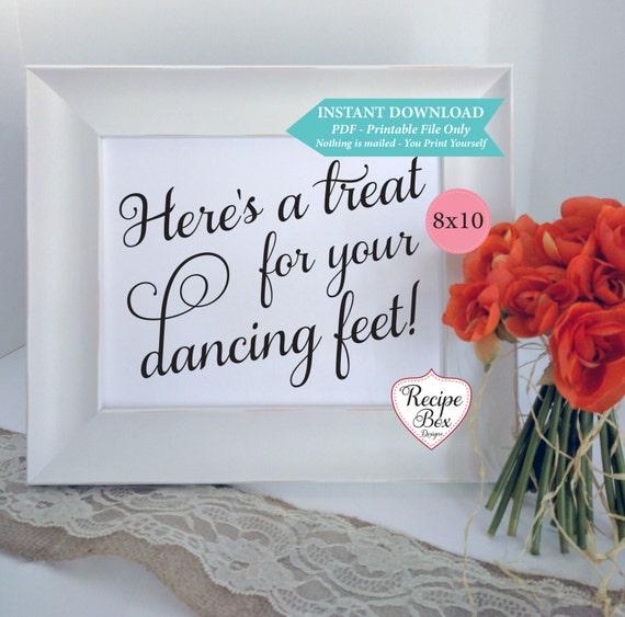 2ee248aa18a211 ... Instant Download Printable Template  2.99 Wedding Flip Flops Dancing  Shoes