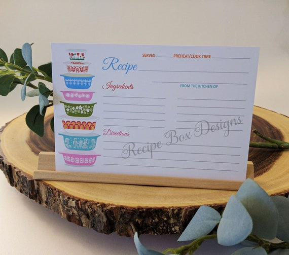 Recipe Cards for Bridal Shower, Vintage Bowls Recipe Cards, 6x4 Double on graduation gift ideas, kitchen shower favors, save the date gift ideas, kitchen art ideas, thanksgiving baby shower ideas, fashion gift ideas, christmas party gift ideas, halloween gift ideas, wedding gift ideas, cooking gift ideas, kitchen centerpieces ideas, first birthday gift ideas, rehearsal dinner gift ideas, kitchen shower cookies, kitchen gift baskets, adult birthday gift ideas, kitchen shower invitations, engagement party gift ideas,