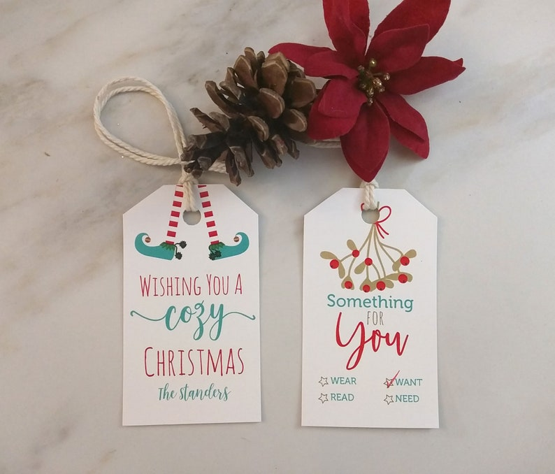 f54e438c3b9d8 Holiday Christmas favor tags, Gift tags for your Holiday Gift Giving,  Christmas Gift Tags, Company Favor tags, Personalized Gift Tag