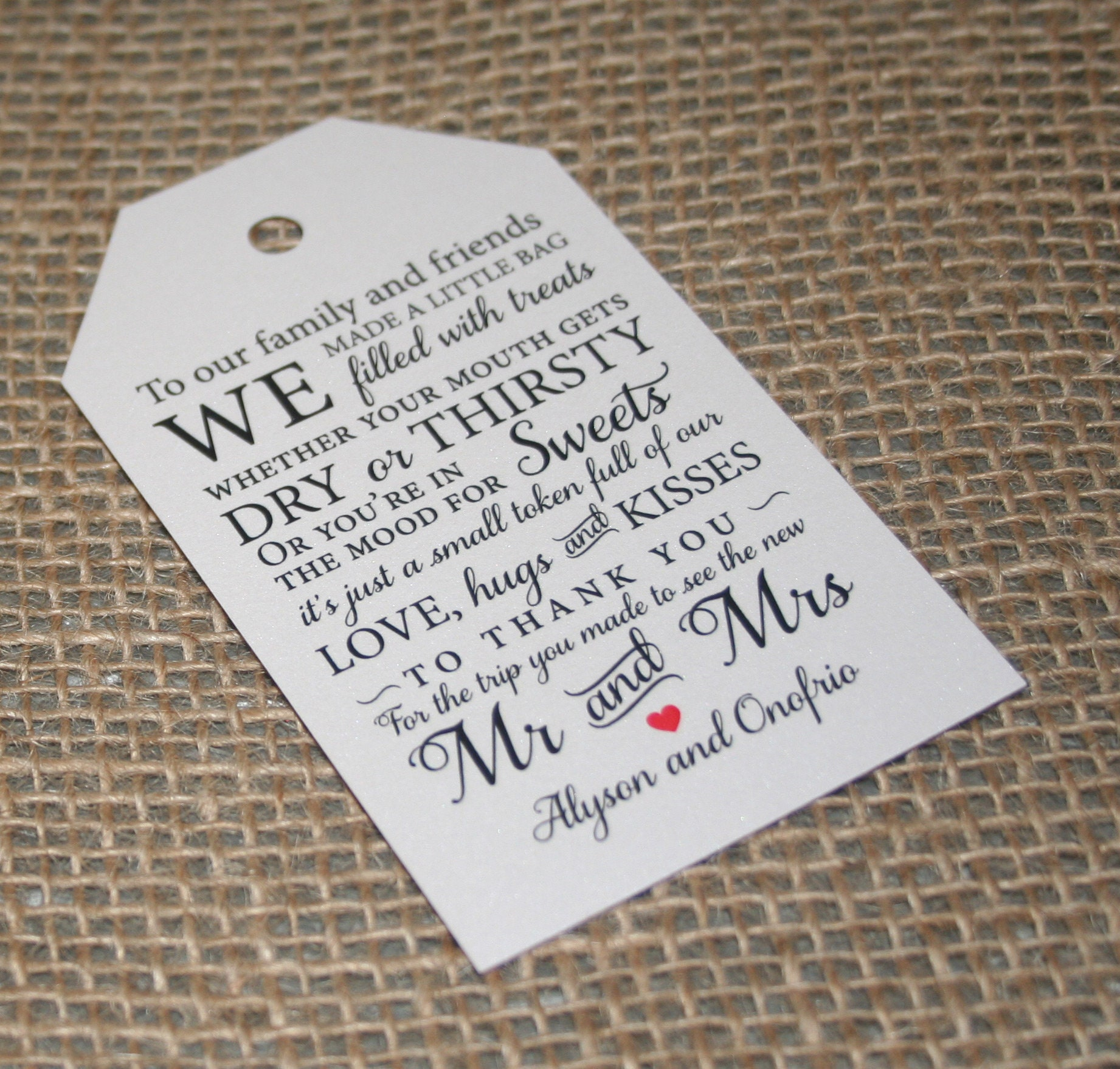 What Is An Appropriate Wedding Gift Amount: Welcome Tags Welcome Bag Tags Wedding Gift Tags Gift Bag