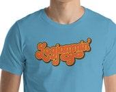Logjammin' - Lebowski Novelty Satire Homage Funny Short-Sleeve Unisex T-Shirt