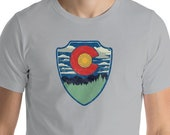 Retro Style Colorado Flag...