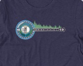 Kentucky State Flag Vintage Banjo & Trees Bluegrass Short-Sleeve Unisex T-Shirt