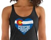 Colorado Flag Love Heart ...
