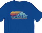 Vintage Vibe Colorado Short-Sleeve Unisex T-Shirt