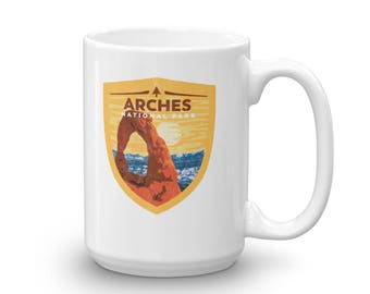 Arches National Park Mug made in the USA