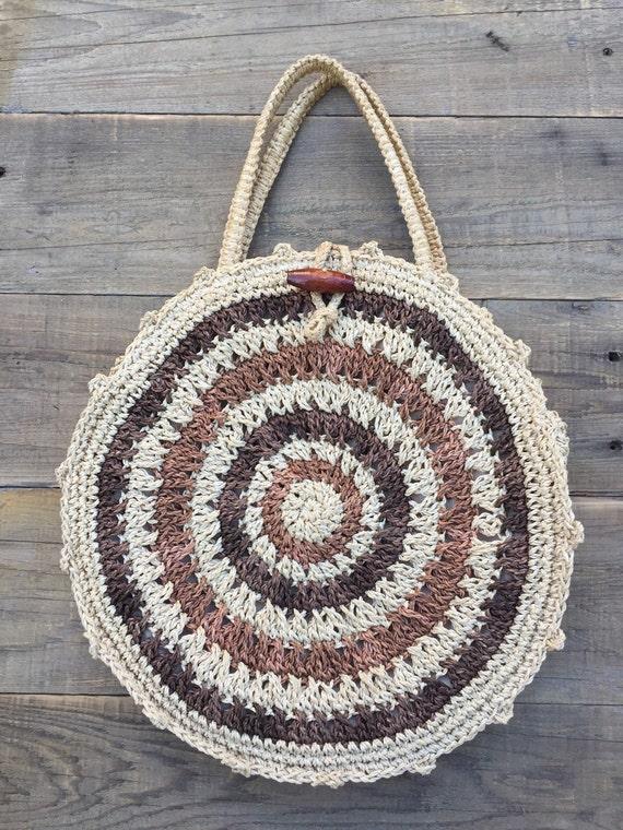 Marchioness Bag, R. M. Macy Co, Vintage Woven Bag,