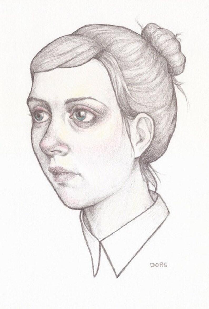 Original Drawing  Madison  by Kristyn Dors image 0