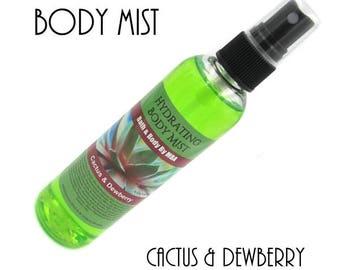 Hydrating Body Mist-Cactus & Dewberry
