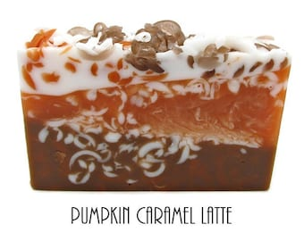 3 Butter and Glycerin Soap-Pumpkin Caramel Latte