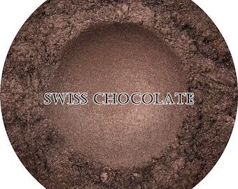 Loose Mineral Eyeshadow 'Swiss Chocolate'
